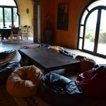 sala della mia meditazione, la mattina