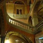 Escalier latéral