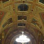 Plafond peintures et dorures