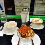 Double Espresso w/ Irish Cream, Cappuccino & Tiramisu