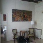 """Hall d entrée de la chambre """"Richelieu"""""""