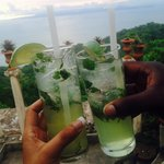 Mojitos by the sunset