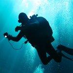 Cenote diving,Alfredo.