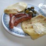Breakfast -- Duck Sausage!!!