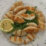 Calamaretti Griglia - Baby-Tintenfische vom Grill