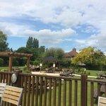 What a beer garden!