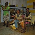 the Garifuna Drummers