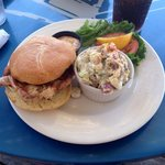 Soft shell crab sandwich's awesome!