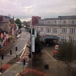 View from #303 - very close to the train station and the town centre.