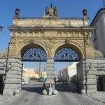 Главные ворота завода