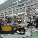 First hanger full of 20th century cars
