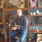 Me playing at Coffee in the Attic