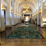 Main hallway in lobby