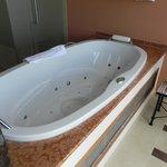 Whirlpool in der Suite
