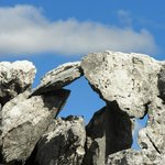 limestone fence