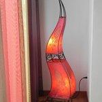 Lampe in der Suite