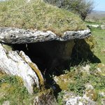 Wedge tomb in Parknabinna