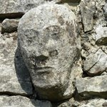 stone head on temple cronan