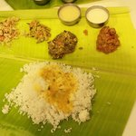 lunch,, authentic south indian food