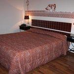 La camera col gustoso letto