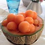 Culatello con melone