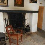 Inside a small cottage in Bog Village