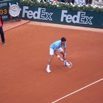 Djokovic on Chatrier
