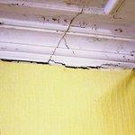 Bedroom ceiling corner