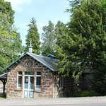 The nearby Spa Pump House