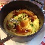 Parmentier de queue de boeuf et foie gras, délicieux!