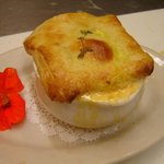 Our signature dish, Lobster Pot Pie! Sooo Good...