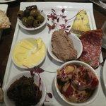 The platter for 1!