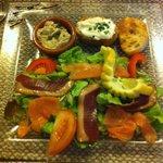 Salade ardoise