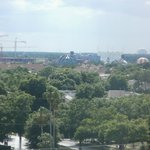 view of downtown disney from 2-807 room