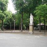 Estatuas  del parque