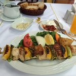 Swordfish skewer- Delicious!