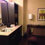 Embassy Suites, Columbus, OH. Wet bar room 535.