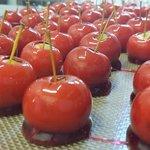 Mini pommes d'amours.