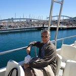 Paseo en barco.