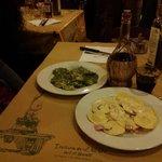 Ravioli alla Crema di Spinaci e Tortelli all'Affumicata