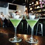 Thai Basil Martinis