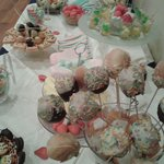 Candy bar de una boda