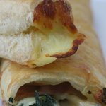 Cheese and Spinach Puff Pastries