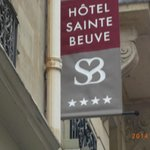 Hotel sign, 4 star in Montparnasse