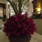 The floral arrangements are a highlight at Siam, Bayshore