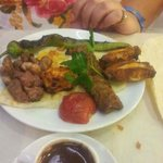 wonderful mixed grill, so tasty