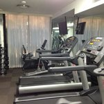 Gym at the hotel