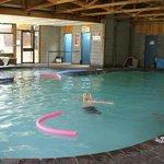 Solar Heated Swimming Pool