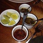 Las salsas.