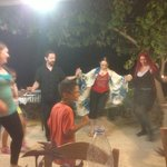 After dinner dancing and music